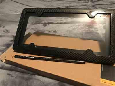 Brian Vieira verified customer review of TagArmur Carbon Fiber License Plate Frame - Gloss Finish