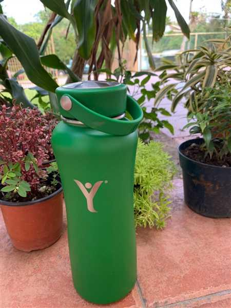 Malou Adaya verified customer review of Insulated DYLN Water Bottle
