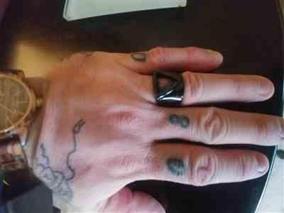 Reginald Russell verified customer review of Odin Ring: Black