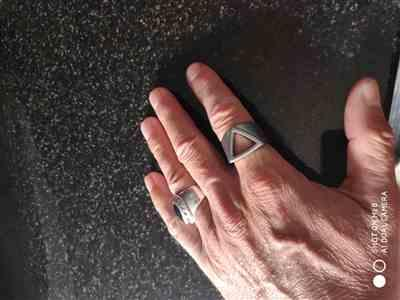 Hervé B. verified customer review of Odin Ring: Silver