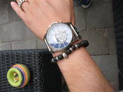 Igor S. verified customer review of Emperador Silver Skull Bracelet