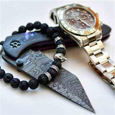 Slava D. verified customer review of Outlaws Silver Twin Skull Bracelet