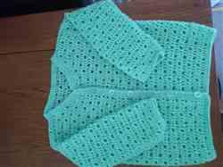 Gillian G. verified customer review of Crocheted Cardigan in Cygnet Yarns Kiddies Couture DK - Yarn and Pattern