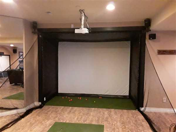 Kevin Wallace verified customer review of SkyTrak SwingBay Golf Simulator Package
