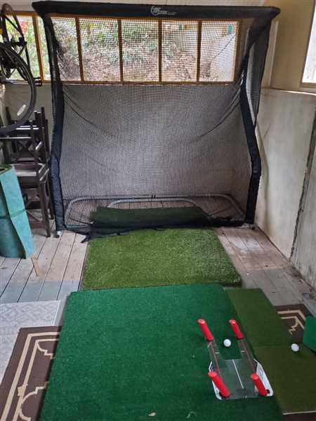 Renzo Arredondo verified customer review of The Net Return Home Series Golf Net