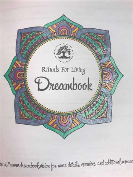 TAMI HARMS verified customer review of Rituals For Living Dreambook