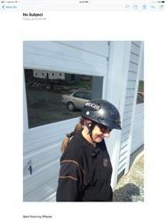 Kevin O. verified customer review of Smallest lightest DOT Beanie Helmet - Flat Black w/Peak