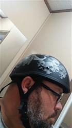 Bikerhelmets.com SOA inspired DOT Beanie SkullNation Flat Black No Peak Review