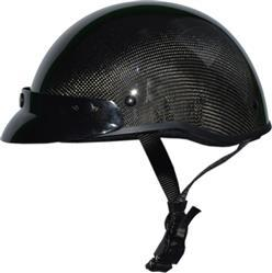 Bikerhelmets.com SOA inspired DOT Beanie Carbonator Gloss Black With Peak Review