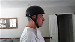 Bikerhelmets.com The Micro Slim Smallest lightest DOT Beanie Helmet - Gloss Black / No Peak Review