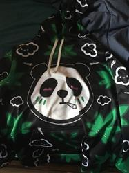 Anonymous verified customer review of Panda Kush Pullover Hoodie