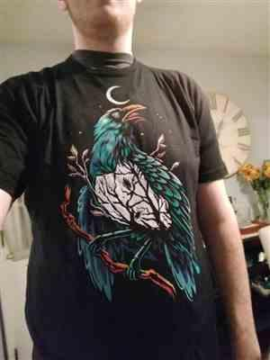 Anonymous verified customer review of Crow Perch Men's Tee
