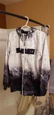 Anonymous verified customer review of Galaxy Splatter Zip-Up Hoodie