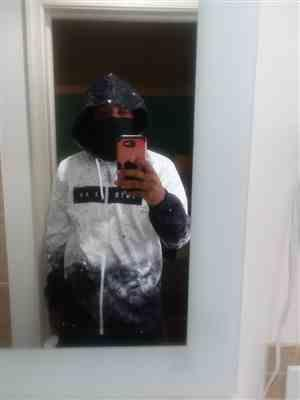 Kevin Colbert Jr verified customer review of Galaxy Splatter Zip-Up Hoodie