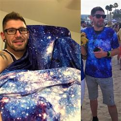 Cody A. verified customer review of Stardust Blanket