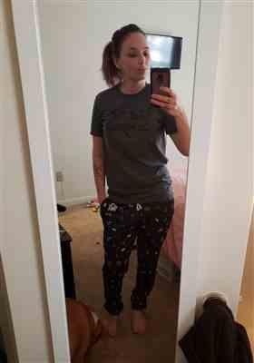 Sarah Werman verified customer review of Drifting Spaceman Joggers