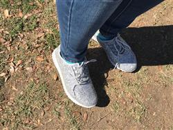 Daniel C. verified customer review of Step By Step Glitter Sneakers