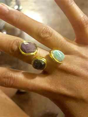 Hillary verified customer review of Trinity Ring (Stone)