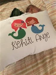 InchBug PERSONALIZED TODDLER PILLOW & PILLOWCASE -- MERMAIDS Review