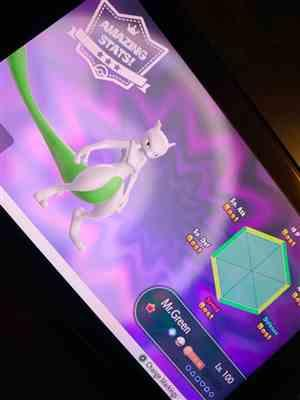 Patrick S. verified customer review of Mewtwo • Competitive • 6IVs • Level 100 • Online Battle-ready