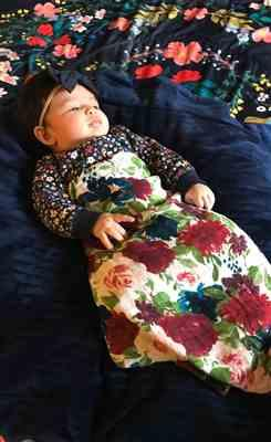 Theresa Ortiz verified customer review of Blossom Swaddle Blanket | Blossom