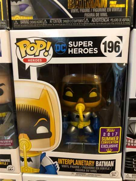 Nick Miller verified customer review of Pop! DC Heroes #196: INTERPLANETARY BATMAN Summer Con 2017