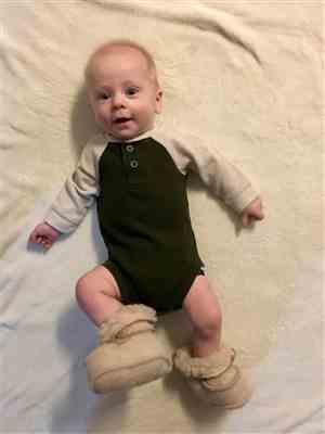 Stacey Kendall verified customer review of Flokati Wool Booties (slippers)