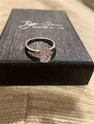Holly verified customer review of 2 ct Oval Classic Solitaire Ring