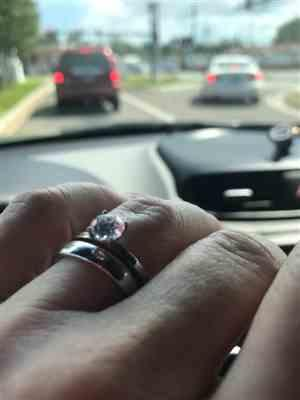Maggie M. verified customer review of 1 ct 4 Prong Solitaire Ring