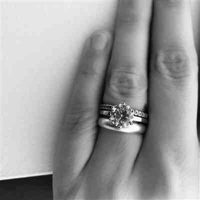 Moriah Bruce verified customer review of 2 ct 6 Prong Solitaire Ring