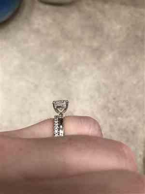 Maggie verified customer review of 2 ct 4 Prong Solitaire Ring