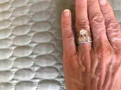 David a. verified customer review of Small Channel Full Eternity Band - Sz 6-8