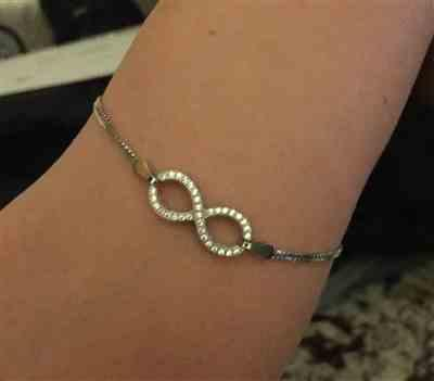 Tammy S verified customer review of Infinity Bracelet - 40% Final Sale