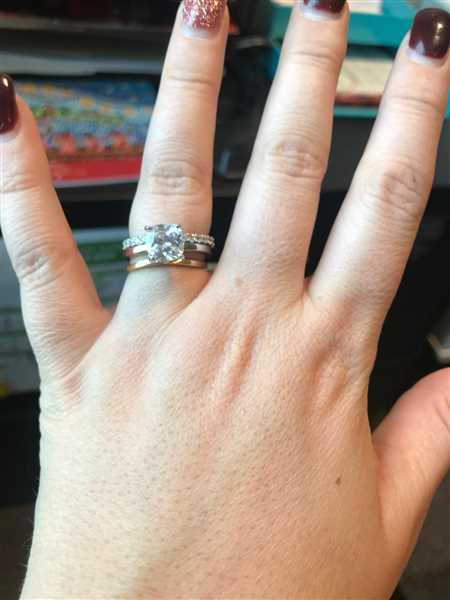 Isabelle Doucette verified customer review of 2 ct Cushion Cut Solitaire Ring