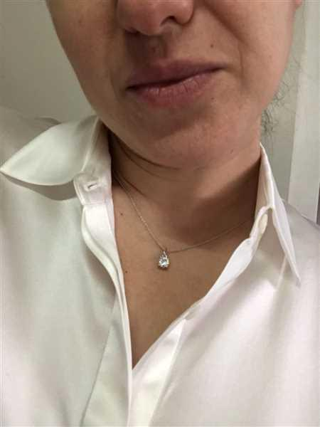 Natalia Nikolova verified customer review of 1 ctw Accented Round Solitaire Necklace