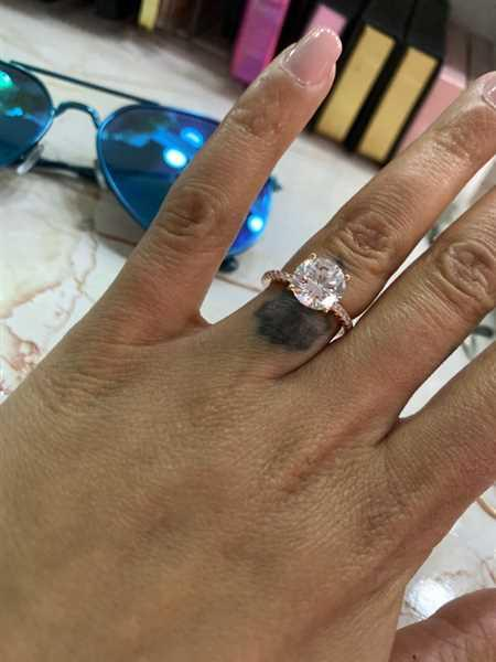 Tiger Gems 3.25 ctw Round Accented Ring - Rose GP Review