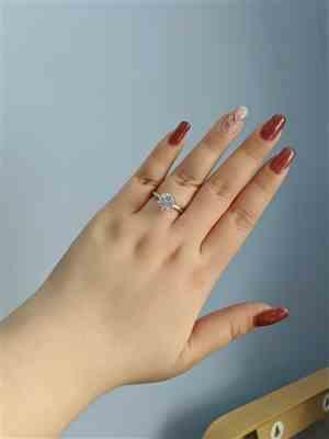 Tracy Law verified customer review of 3 ct 6 Prong Solitaire Ring - 40% off Final Sale, Sz 4 & 9-12
