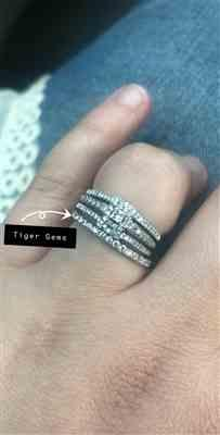Random Buyer verified customer review of 1/3 ctw Small Full Eternity Band