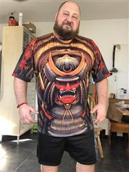 David Zee verified customer review of The Samurai Unisex Shirt