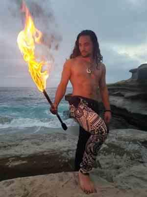 Payton T. verified customer review of Polynesian Joggers