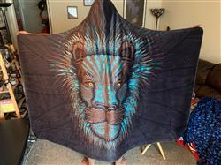 Lunafide Lion Warrior Hooded Blanket Review