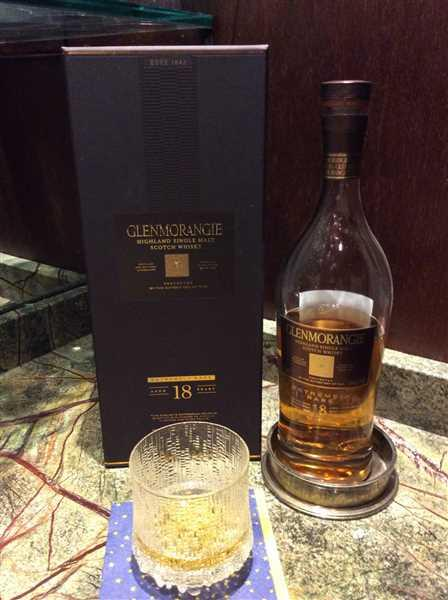 Wine Chateau Glenmorangie Scotch Single Malt 18 Year Extremely Rare Review