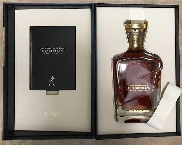 Anonymous verified customer review of Johnnie Walker Scotch King George V