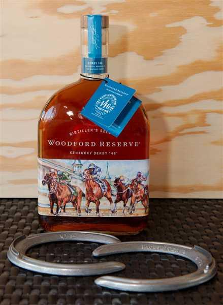 Wine Chateau Woodford Reserve Bourbon Distiller's Select Kentucky Derby Edition Review