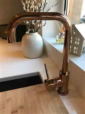 Torin Crotch verified customer review of Alveus Delfino Copper, kitchen mixer tap, Monarch collection