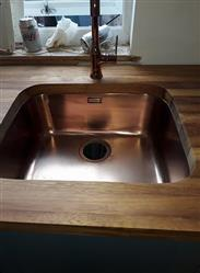 Vicky H. verified customer review of Alveus Leo Copper, kitchen mixer tap, Monarch collection