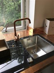 Graham S. verified customer review of Alveus Karat 10, inset sink, glass/ stainless steel, square