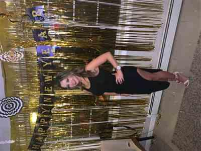 Paula Estrada verified customer review of Emma Black Tank Ribbed Waist Tie Slit Dress