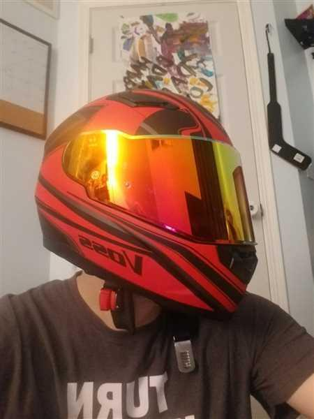 Michael Lewis verified customer review of The 988 Moto-1 Full Face Purple Haze Serpienti Helmet
