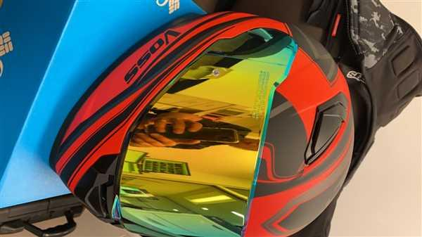 Voss Helmets The 988 Moto-1 Full Face Purple Haze Serpienti Helmet Review